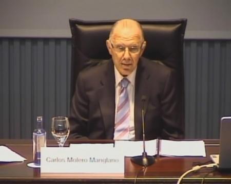 Carlos Molero Manglano. Catedrático de Dereito do Traballo e da Seguridade Social. Inspector de traballo. Avogado. Universidade Pontificia de Comillas. Madrid.